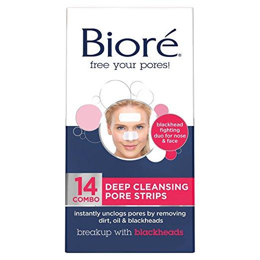 Bioré Deep Cleansing Pore Strips Combo