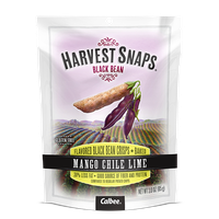 Calbee Harvest Snaps Black Bean Mango Chili Lime