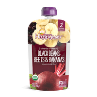 Happy Baby® Organics Clearly Crafted™ Black Beans, Beets & Bananas