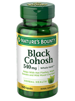 NATURE'S BOUNTY® Black Cohosh