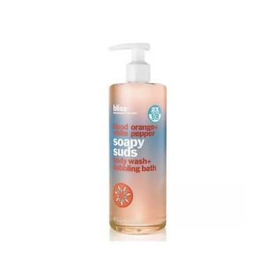 bliss Blood Orange & White Pepper Soapy Suds Body Wash & Bubbling Bath