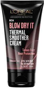 L'Oréal Paris Advanced Hairstyle BLOW DRY IT Thermal Smoother Cream