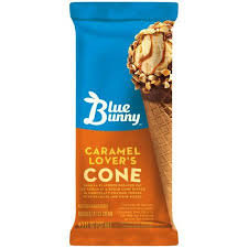 Blue Bunny Caramel Lovers Cones