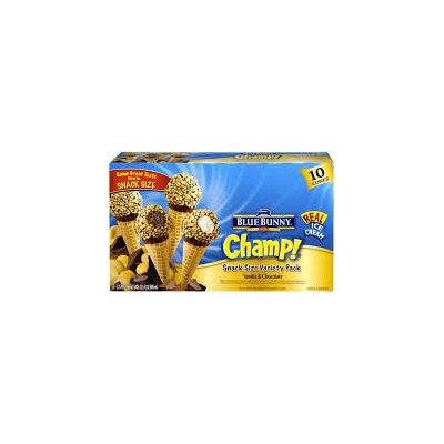 Blue Bunny Champ! Snack Size Variety Pack Vanilla & Chocolate