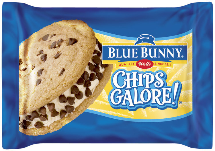 Blue Bunny Chips Galore!