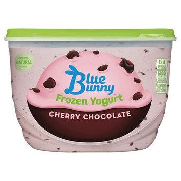 Blue Bunny Frozen Yogurt Cherry Chocolate