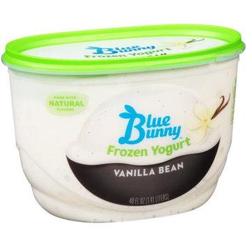 Blue Bunny Frozen Yogurt Vanilla Bean