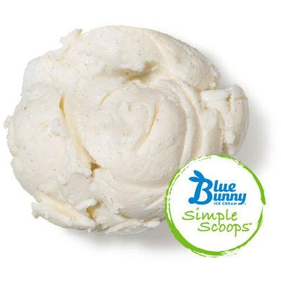 Blue Bunny Ice Cream Simple Scoops Vanilla Bean