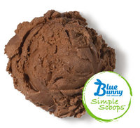 Blue Bunny Ice Cream Simple Scoops Chocolate