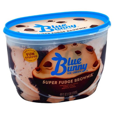 Blue Bunny Ice Cream Super Fudge Brownie