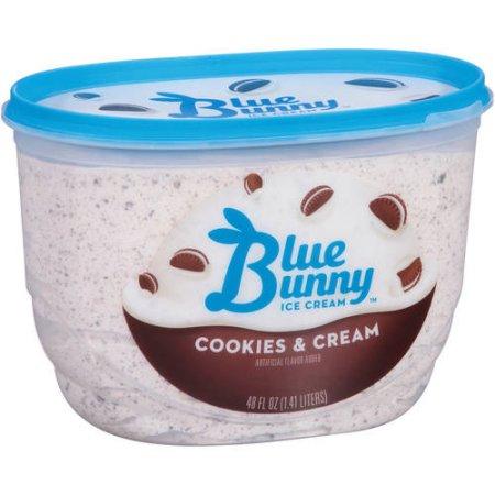Blue Bunny Ice Cream Cookies & Cream