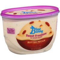 Blue Bunny Sweet Freedom No Sugar Added Butter Pecan