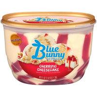 Blue Bunny Premium Ice Cream Cherrific Cheesecake