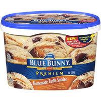 Blue Bunny Premium Ice Cream Homemade Turtle Sundae