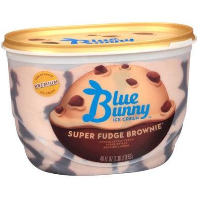 Blue Bunny Premium Ice Cream Super Fudge Brownie