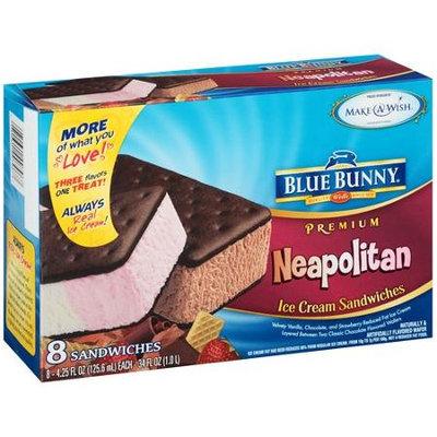 Blue Bunny Premium Neapolitan Ice Cream Sandwiches