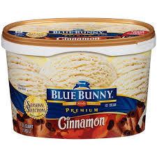 Blue Bunny Seasonal Selections Premium Ice Cream Cinnamon