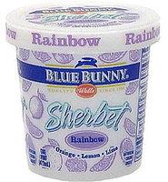 Blue Bunny Sherbet Rainbow Ice Cream