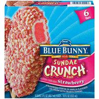 Blue Bunny Sundae Crunch Bar Strawberry