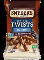 Snyder's Of Hanover Braided Pretzel Twists Blueberry