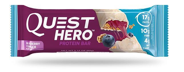 QUEST NUTRITION Blueberry Cobbler Protein Bar