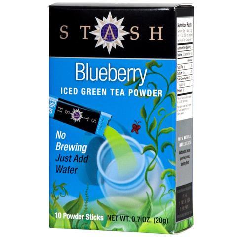 Stash Tea Blueberry Green Iced Tea Powder