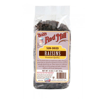 Bob's Red Mill All Natural Sun Dried Raisins