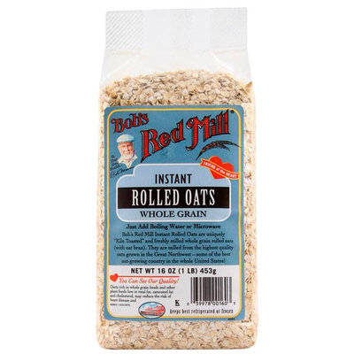 Bob's Red Mill Instant Oats Rolled Whole Grain