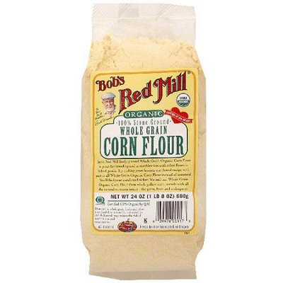 Bob's Red Mill Organic 100% Stone Ground Whole Grain Corn Flour