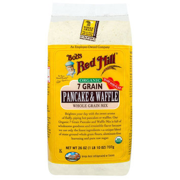 Bob's Red Mill Organic 7 Grain Pancake & Waffle Whole Grain Mix