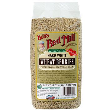 Bob's Red Mill Organic Hard White Wheat Berries