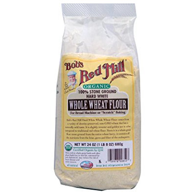 Bob's Red Mill Organic Hard White Whole Wheat Flour