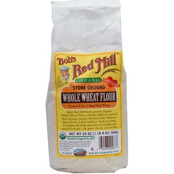 Bob's Red Mill Organic Stone Ground Whole Wheat Flour
