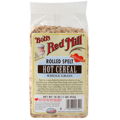 Bob's Red Mill Rolled Spelt Hot Cereal Whole Grain