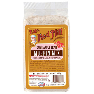Bob's Red Mill Spice Apple Bran Muffin Mix