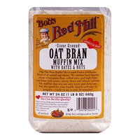 Bob's Red Mill Stone Ground Oat Bran Muffin Mix With Dates & Nuts