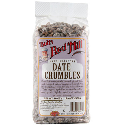 Bob's Red Mill Sweet and Chewy Date Crumbles