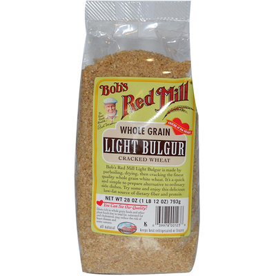 Bob's Red Mill Whole Grain Light Bulgar Cracked Wheat