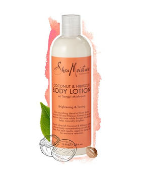 SheaMoisture Coconut & Hibiscus Body Lotion