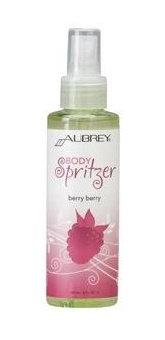 Aubrey Organics Body Spritzers Berry