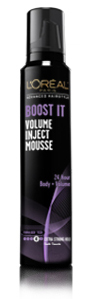 L'Oréal Paris Advanced Hairstyle BOOST IT Volume Inject Mousse