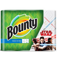 Bounty Printed Paper Towels Featuring Star Wars