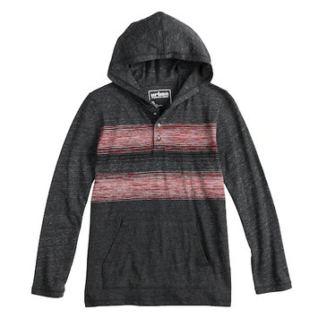 Urban Pipeline® Striped Hooded Tee For Boys 8-20