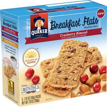 Quaker®Breakfast Flats - Cranberry Almond Flavor