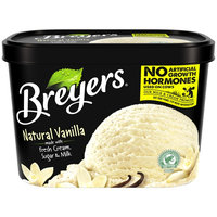 Breyers All Natural Vanilla Ice Cream