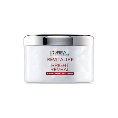 L'Oréal Paris RevitaLift® Bright Reveal Brightening Daily Peel Pads