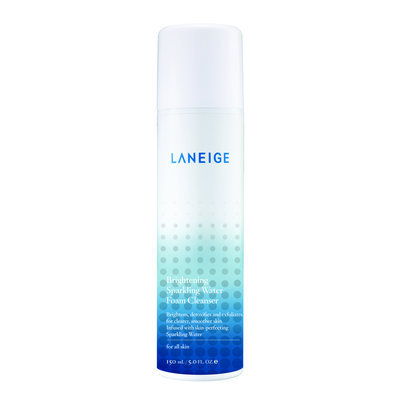 LANEIGE Brightening Sparkling Water Foam Cleanser