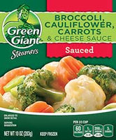 Green Giant® Steamers Broccoli, Cauliflower, Carrots & Cheese Sauce