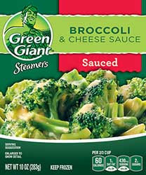 Green Giant® Steamers Broccoli & Cheese Sauce