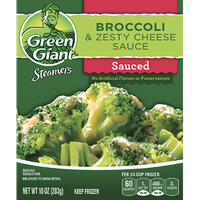 Green Giant® Steamers Broccoli & Zesty Cheese Sauce